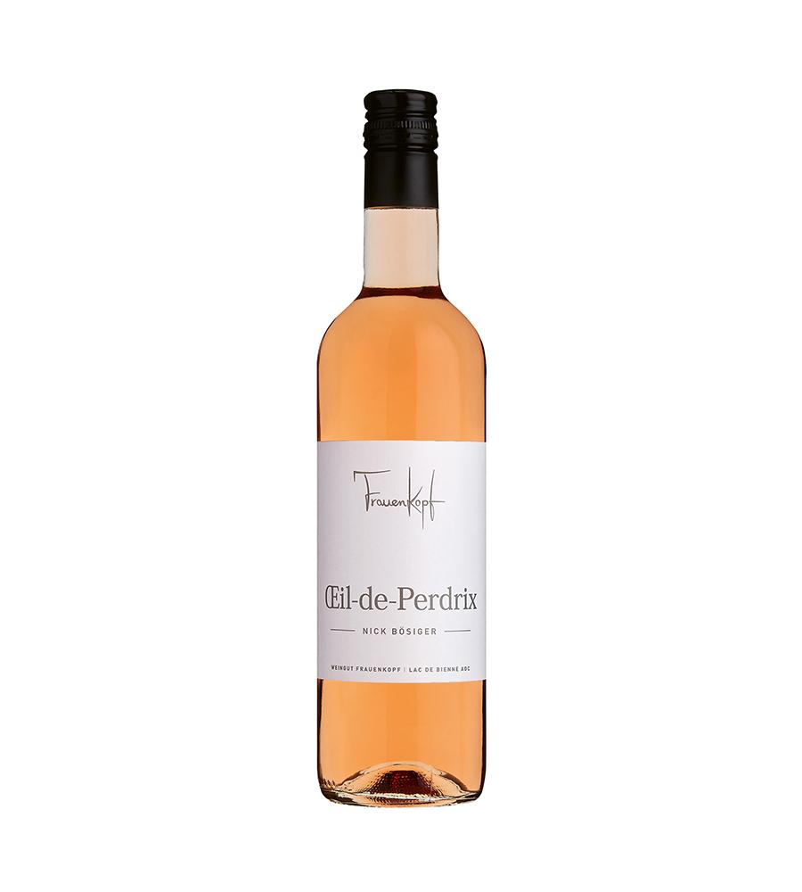 Weingut Frauenkopf – Twanner Rosé: Oeil-de-Perdrix